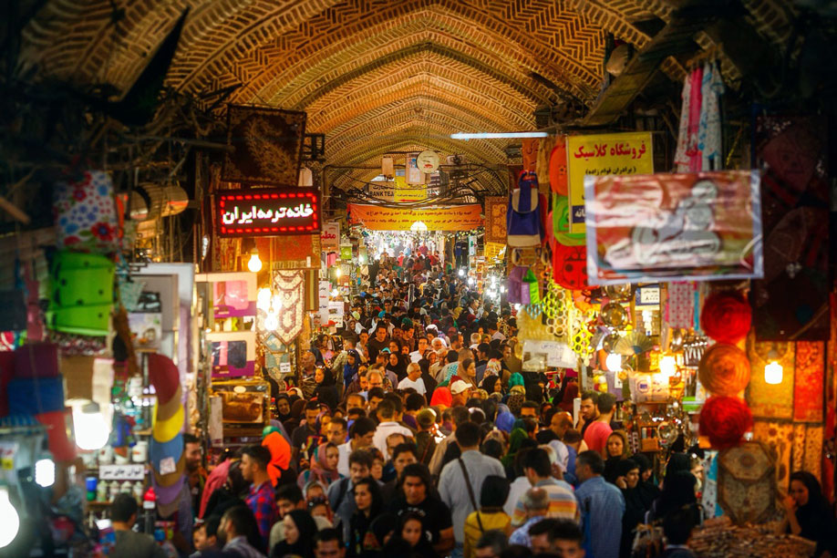 Tehran Grand Bazaar 2019