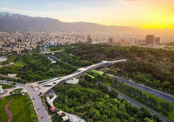 Tabi'at Bridge in Tehran 2019